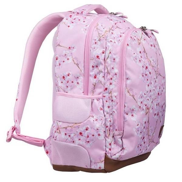 717b0d7aef32 St. Right virágos iskolatáska hátizsák 4 rekeszes – Cherry Blossom ...